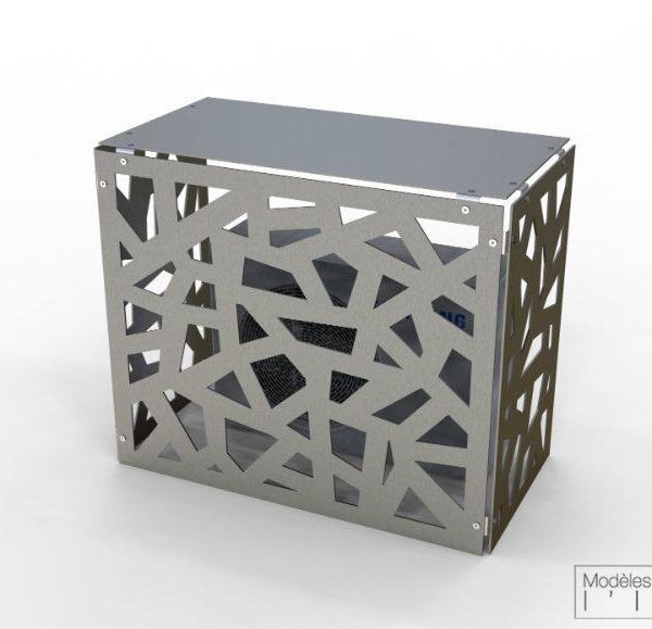 alumen cache clim ext rieur en alu cache climatisation. Black Bedroom Furniture Sets. Home Design Ideas