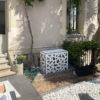 cache clim modifiable aluminium pour jardin