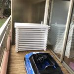 cache clim balcon rez de chausse